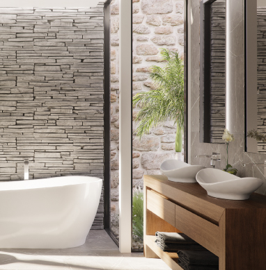 How to transform your bathroom into a tranquil coastal retreat