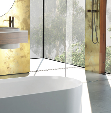 What's hot in bathroom design